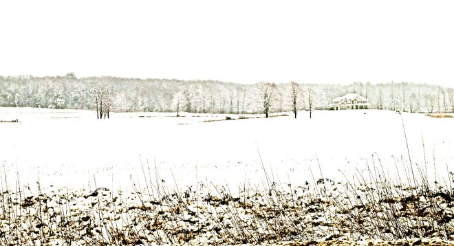 The world is most silent while snow is falling. Otherwise, it is never really still.