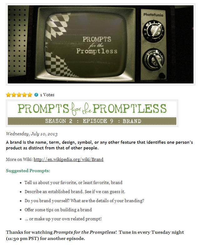 Promptless Branding