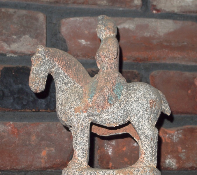 Tang horse with servant