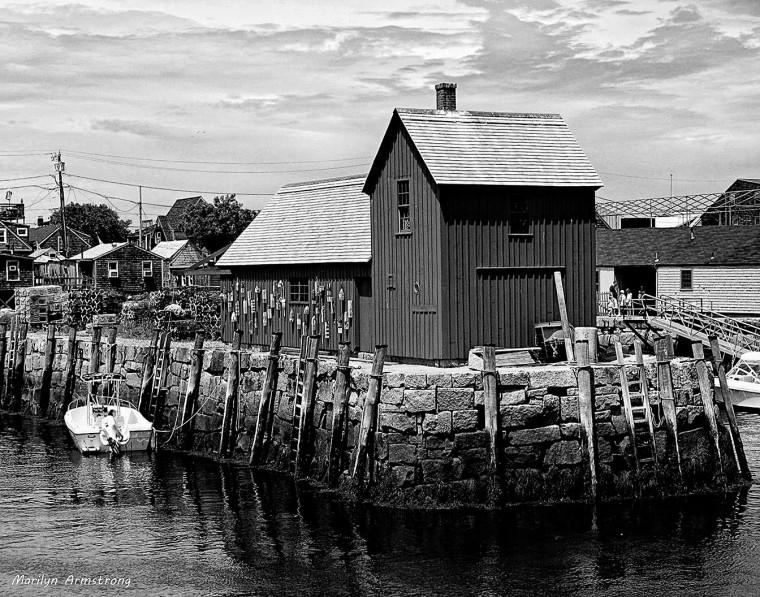 Rockport Harbor, Cape Ann, Massachusetts