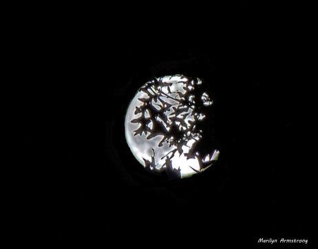 Moon over Uxbridge