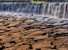 Dam at Whitins Pond