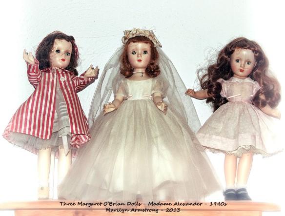 Margaret O'Brian by Three
