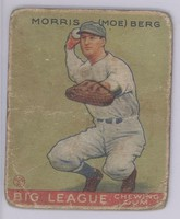 Moe Berg - Catching for the Senators, 1932-1934