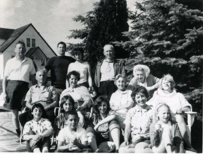 1963. I'm in the front, in the middle, arm on my knee.