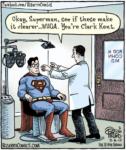 Superman-ClarkKent-Bizarro