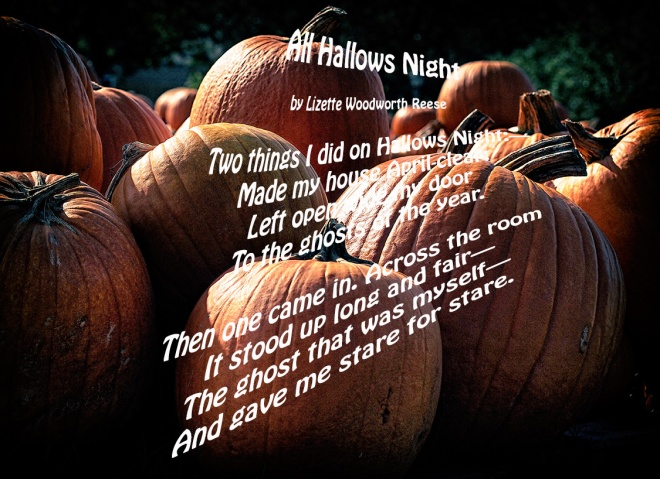 All Hallows Night Poem
