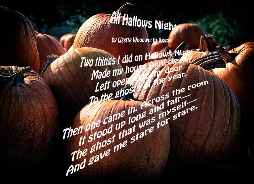 All Hallows Night Poem