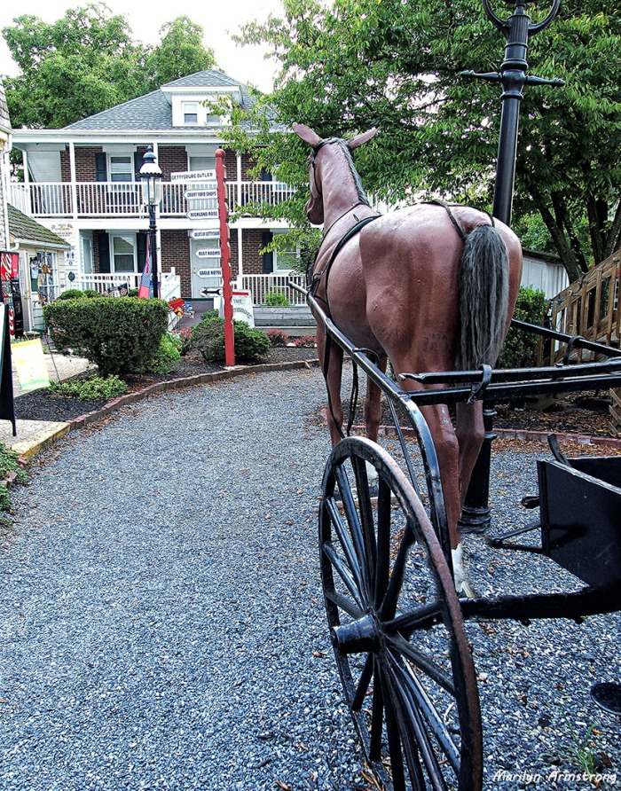 Gettysburg faux horse 2
