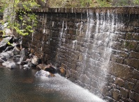 Empty dam at Manchaug