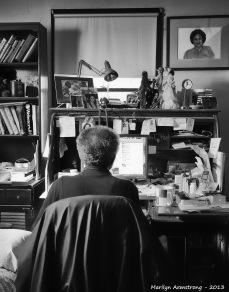 Garry in his office