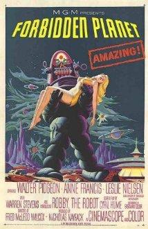 fobidden planet poster