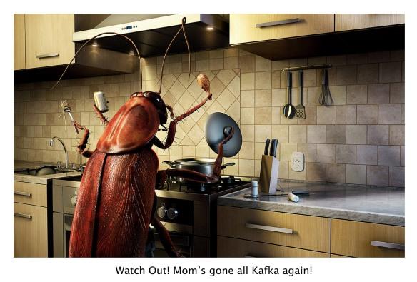 Mother as Kafka's Cockroach