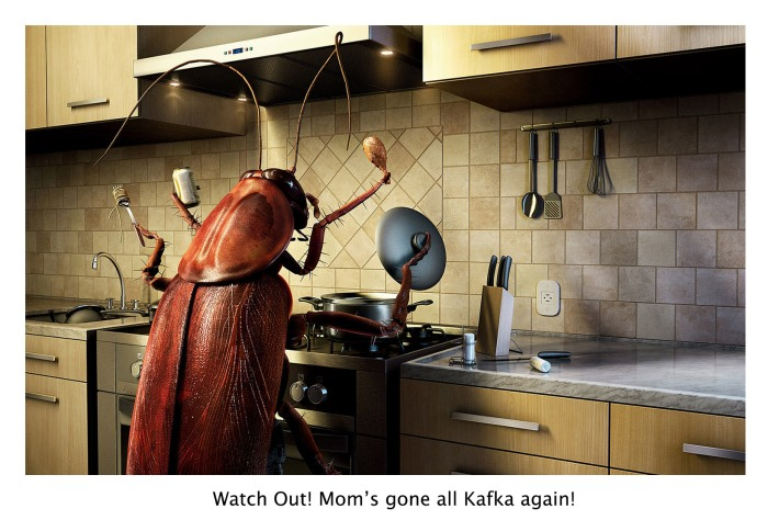 Mother as Kafka's Cockroach