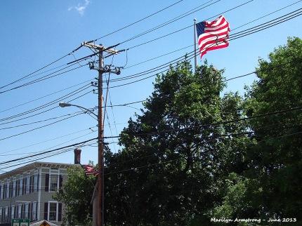 Flag over Uxbridge 56