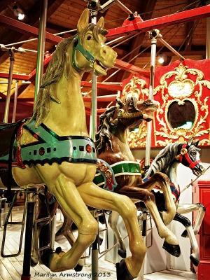 Carousel steeds 38