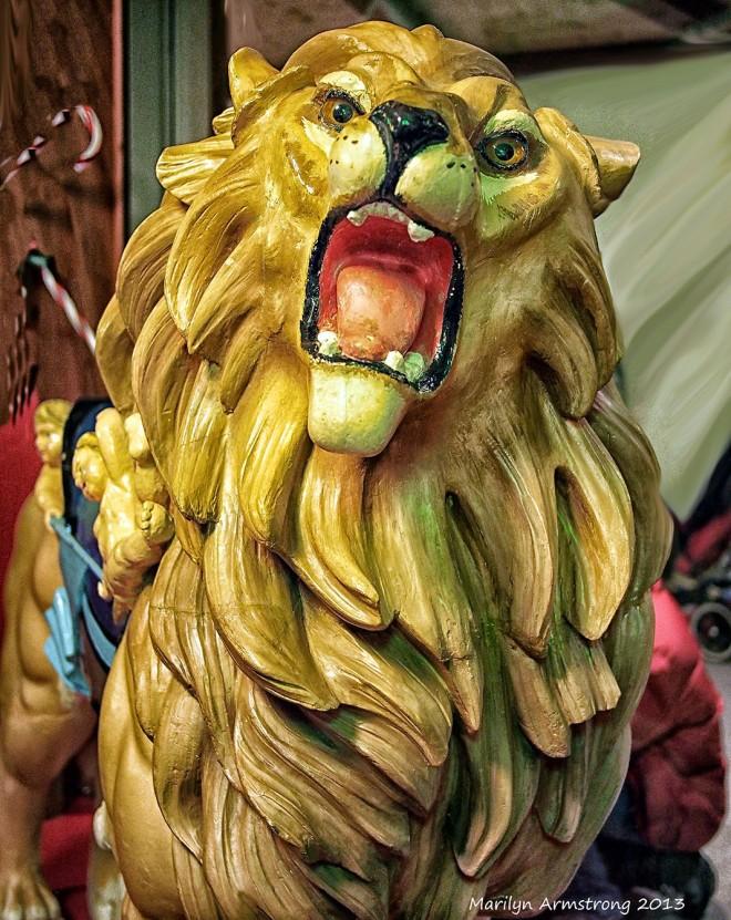 Carousel Lion 81