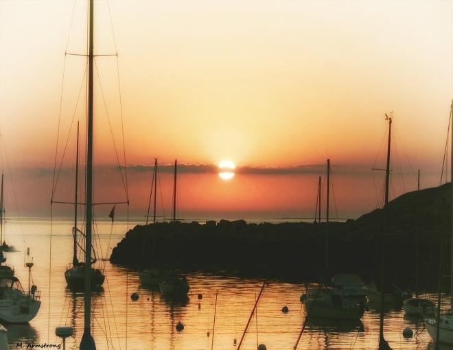 Sunrise - July in Rockport