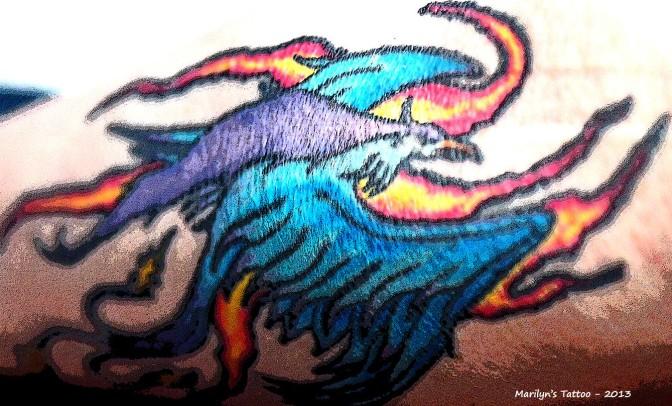 My Tattoo phoenix