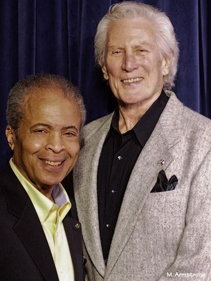 Tom Ellis with Garry