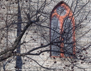 stone church window