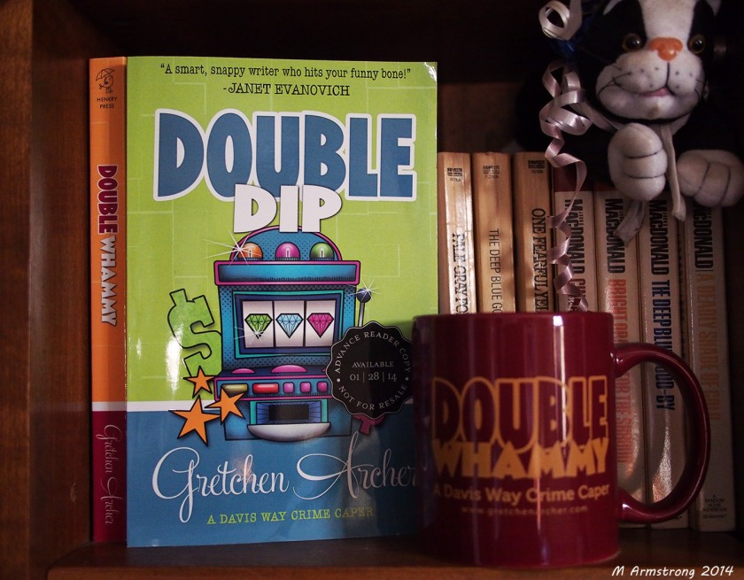 double dip in bookcase