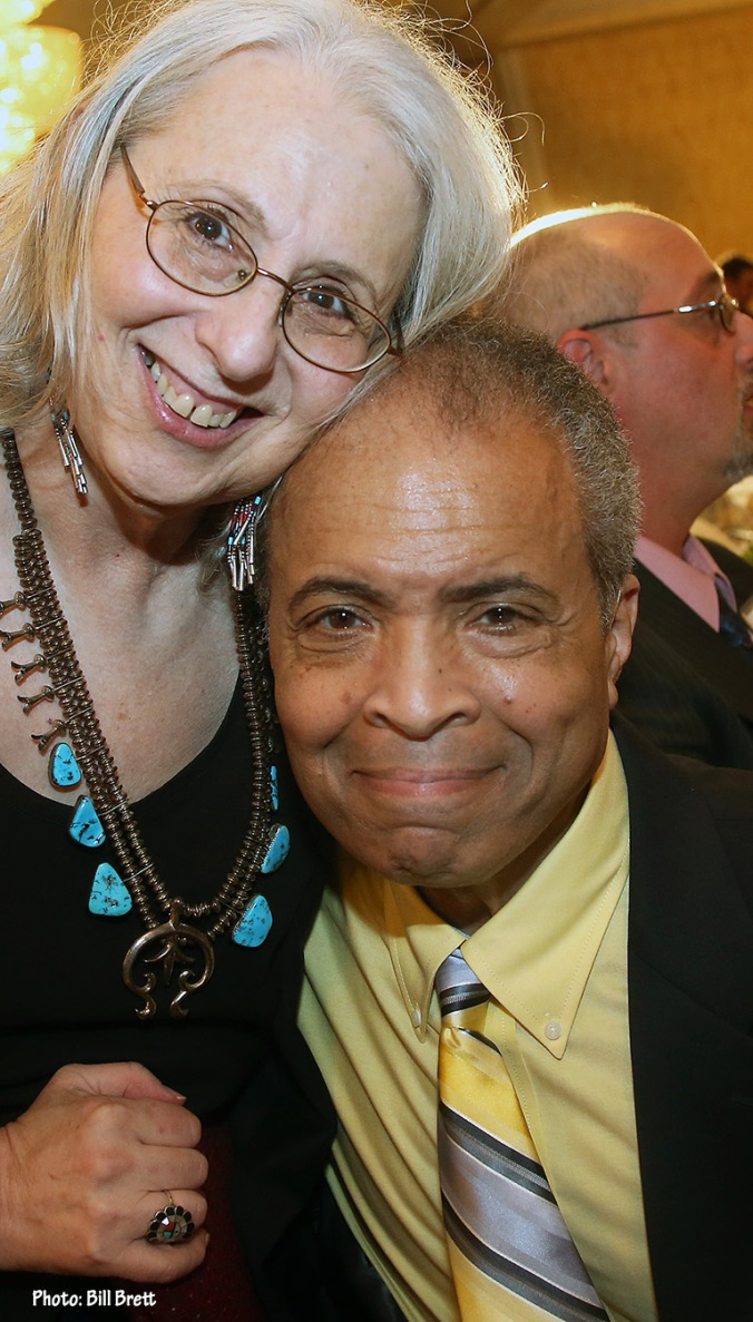 Garry with Marilyn at his Broadcasting Hall of Fame Induction
