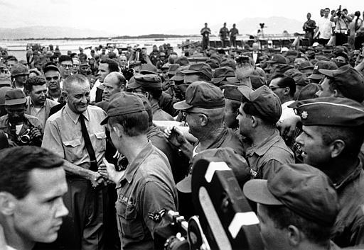 an analysis of lyndon b johnsons war on vietnam In lyndon b johnson's acceptance speech he utilized rhetorical features to  validate his upcoming role as president of the united states  speech  rhetorical analysis  to unintentionally give him a blank check in conducting the  vietnam war.