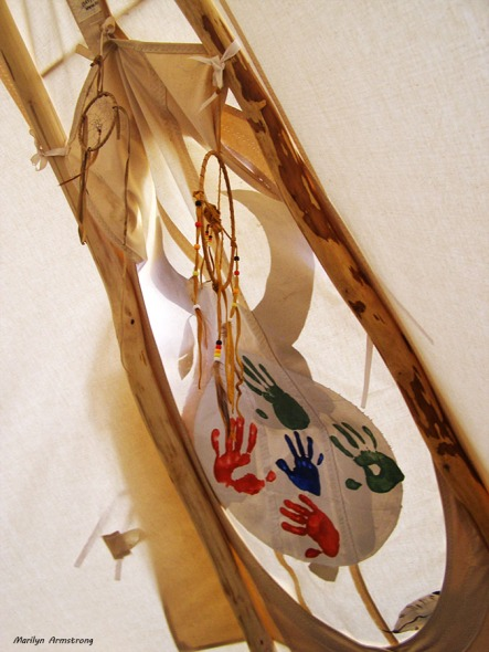 circle of life teepee door
