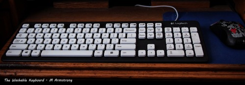 logitech sealed keyboard