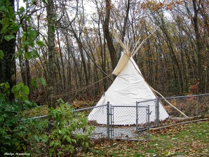 Newborn teepee - 1st day