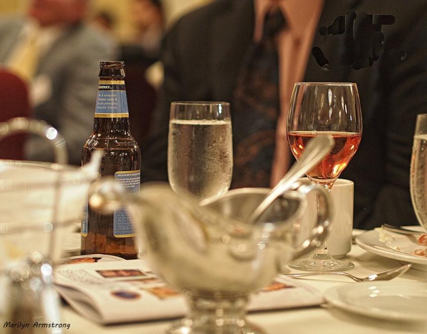 drinks table dinner