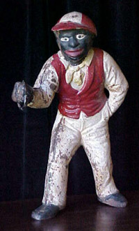 black jockey racist statue
