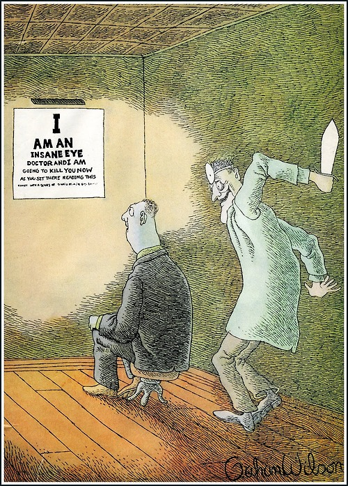 insane doctor cartoon