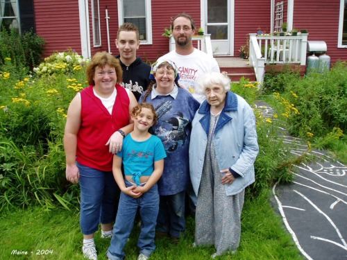 Kraus Family, Machias 2004