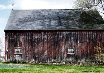old barn in blackstone valley