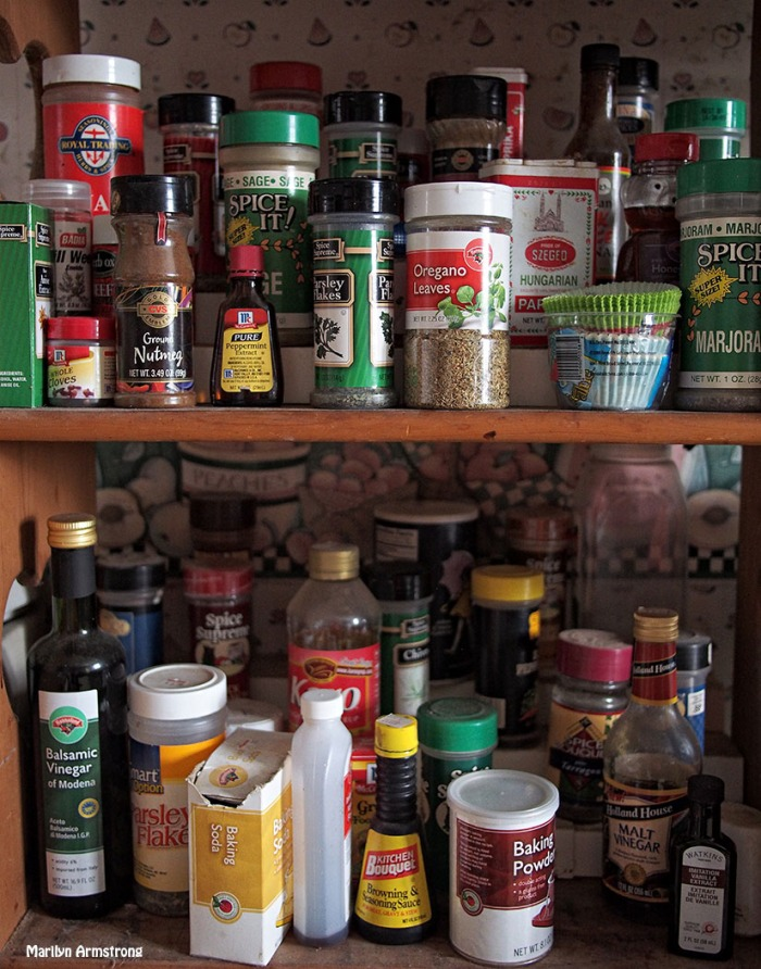 spices in the kitchen