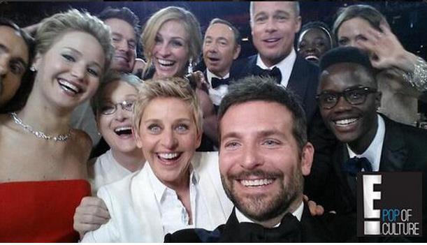 Ellen at oscars