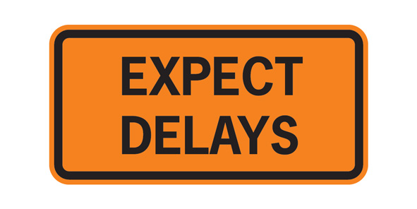 Expect-Delays-sign