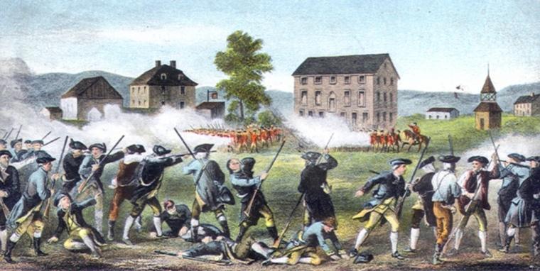 Battle of Lexington and Concord revolution