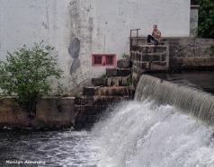 garry at falls on ledge