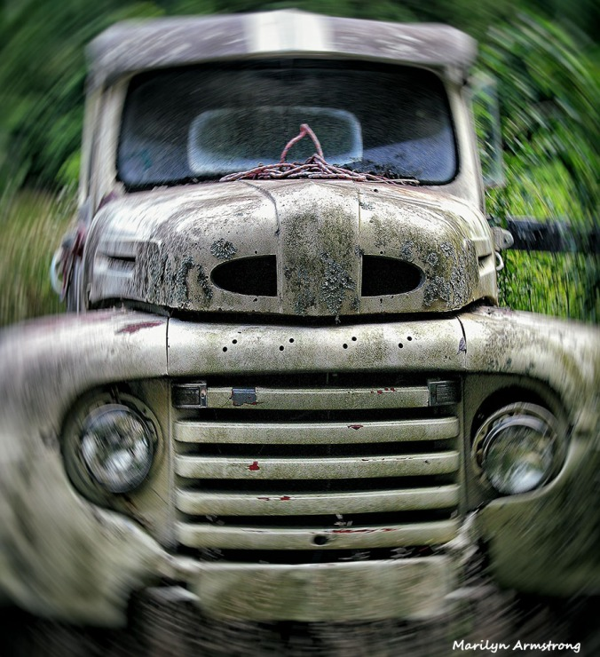 Old Truck in MOTION