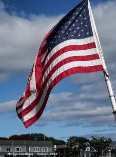 Hyannis Harbor flag