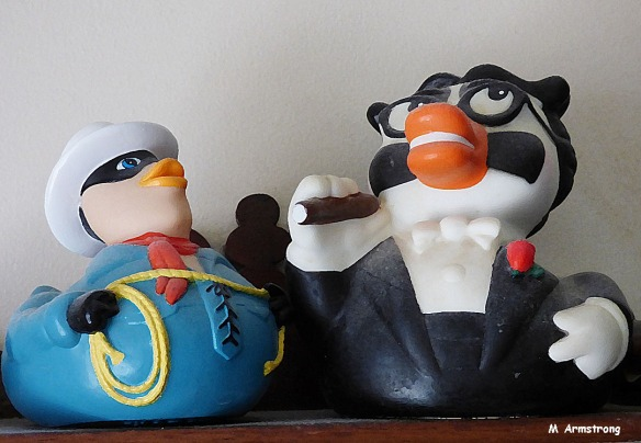 75-Lone and Groucho Tub toys