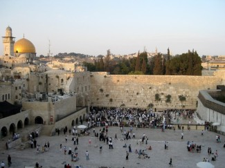 Western wall overview