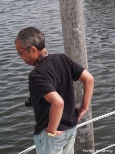 Garry at the Marina June 2014