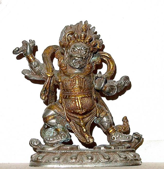 Bronze, probably Tibetan, 19th century?