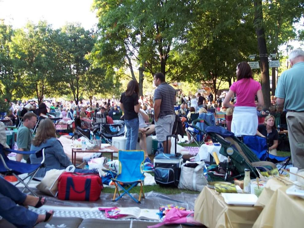 Picnic-Crowd
