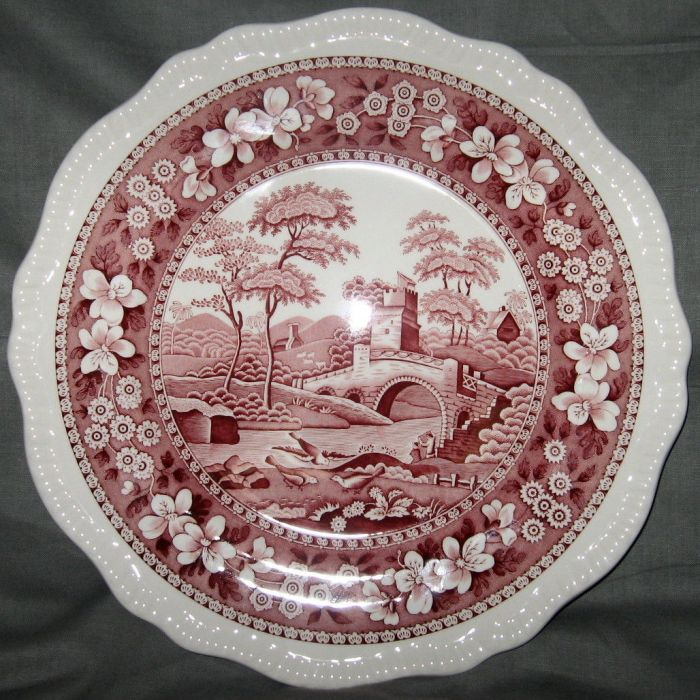 Spode Tower Pink