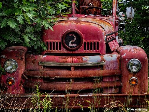 old number 2 fire engine